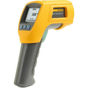 Fluke 568 Ir And Contact Thermometer 40 1472f Range 50 1 Ratio