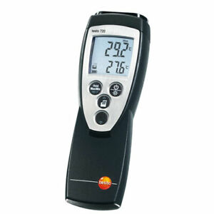 Testo 720 Abs Precise Temperature Measuring Rtd Thermometer 150 To 1472f