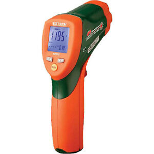 Extech 42512 Dual Laser Infrared Thermometer 58 To 1832 f 30 1