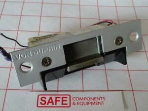 Von Duprin 5100 ussp28 Electric Strike Lock 12v 24v Aluminum 4 7 8 X1 1 4 Mm 506