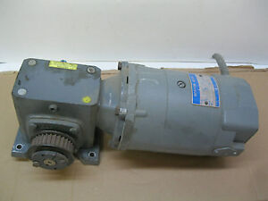 Boston Gear Motor V95000 g And Gear Speed Reducer F718 20 b5 g 1 2hp 5 6a d5