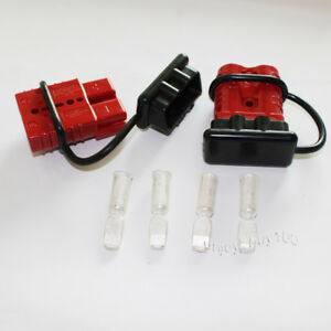 Winch Quick Connect Battery Disconnect Trailer Plug Connector Dust Boot 1 0awg