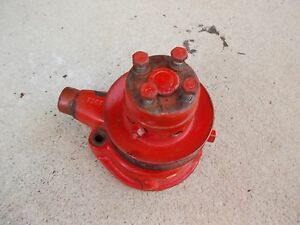 Allis Chalmers C B Tractor Ac Engine Motor Water Pump Assembly
