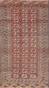 Must See Geometric Old Antique 5x8 Wool Balouch Afghan Area Oriental Rug