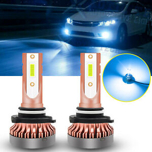 9005 Hb3 Ice Blue Projector Lens 106 Smd Led Bulbs For Daytime Running Light Drl