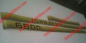 John Deere 6000 Series Stickers Decals