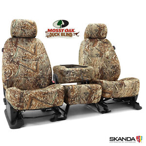 Mossy Oak Duck Blind Camo Tailored Seat Covers For Ford F450 Made To Order