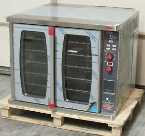 New Lang Ecsf es1 Chefseries Single Full Size Electric Convection Oven 208v