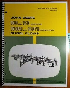 John Deere 100 150 Rigid 100fh 150fh Flexible Chisel Plow Operator s Manual 8 67