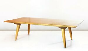 Paul Mccobb Planner Group Coffee Table 1950 S Solid Maple