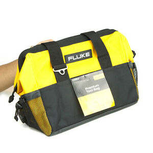 Fluke C550 Rugged Soft Tool Bag With Zipper And Inner Pockets