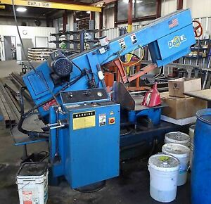 Doall 500 Snc Horizontal Auto Band Saw 2005 14 X 20 Miter With Table