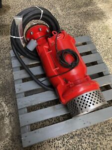 Multiquip Submersible Centrifugal Pump 3 Phase 15hp