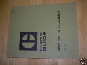 Cat Caterpillar 3208 Engine Operation Guide Manual