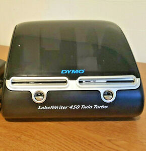 Dymo Labelwriter 450 Twin Turbo Label Thermal Printer Model Number 1750160