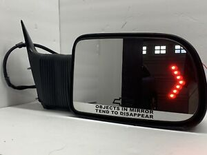2003 2006 Chevy Silverado Gmc Truck Right Side Towing Door Mirror With Led S
