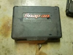 Snap On 3 8 Cordless Impact 14 4v Case Only No Tools Included