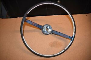 Vintage 16 Ford 2 Spoke Steering Wheel