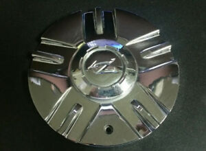 Zinik Mazotti Chrome Custom Wheel Center Cap Z 151 Used