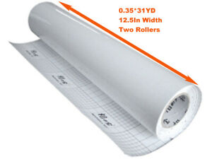 2 Rolls Glossy Vinyl Cold Laminating Film For Laminator 1116x12 5in 3mil