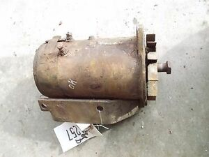Farmall John Deere Ih Jd Ac Tractor Good Working 12v Generator Allis Chalmers