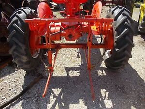 Allis Chalmers C Tractor 3pt Hitch W Cylinder For Rockshaft Arms On An Ac