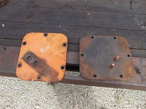 Allis Chalmers D14 Tractor Ac Rearend Housing Cover Covers