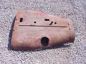 Farmall F20 Tractor Original Factory Ih Front Hood Cover Panel Over Engine