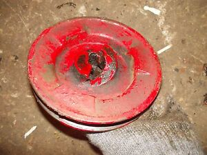 Farmall C B Bn Tractor Ih Ihc Engine Motor Crank Shaft Main Front Belt Pulley