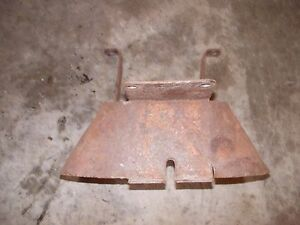 Farmall C Sc Tractor Ih Pto Power Take Off Shield For Tractor W Belt Pulley
