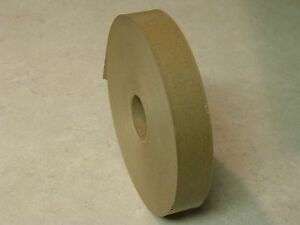 4 Rolls 1 X 500 Feet Each Water Activated Natural Tan Kraft Paper Tape