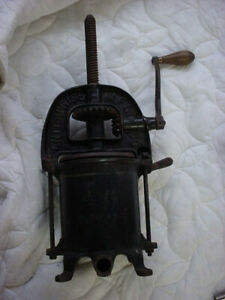 Vintage Enterprise Mfg Co Fruit Press And Sausage Stuffer