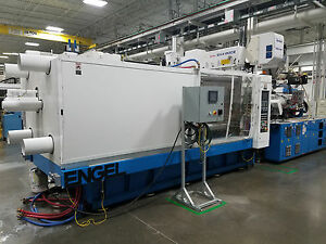 2005 Engel 600 Ton Two shot Two color Injection Molding Machine