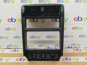 2000 04 Ford Mustang Dash Radio Stereo Climate Control Bezel Trim Dbl Din Oem