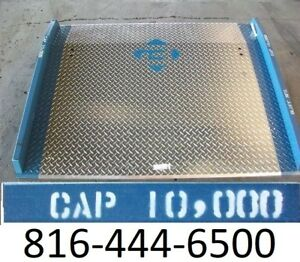 60 X 48 Loading Dock Plate Aluminum 10 000 Lb Pallet Truck Board Usa New