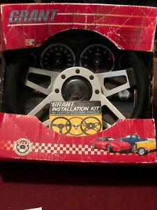 Nos Grant 415 Challenger Steering Wheel W Installation Kit Hot Rat Street Rod