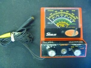 Vintage Snap On Mt926 Multimeter Volt Meter