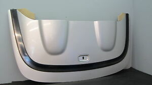99 03 Mercedes W208 Clk320 Clk430 Convertible Roof Soft Top Cover Rear Trim 616
