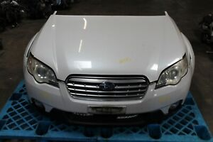 Jdm 03 04 05 06 07 08 09 Subaru Legacy Outback Nose Cut Front Pearl White