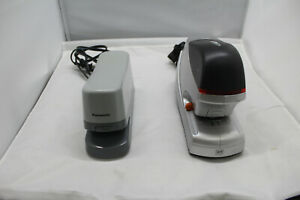 Lot Of 2 Swingline Optima 45 Electric Stapler Model 48209 And Panasonic As 302n