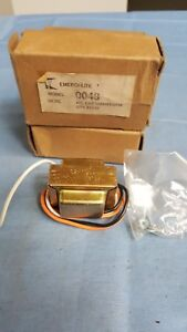 Lot Of 4 Emergi lite Model 0048 Conversion Kit 277vac For X10 X20 Exit Signs