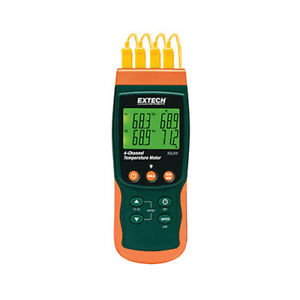 Extech Sdl200 4 channel Datalogging Thermometer 6 Thermocouple Types