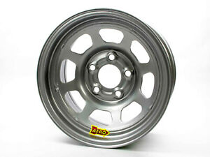 Aero Race Wheels 50 series 15x8 2in Bs 5x4 75 Steel Silver
