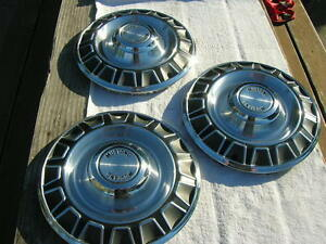 Nos 1970 Ford Mustang Hubcaps Hub Caps Hubcap Wheel Covers 3 Only
