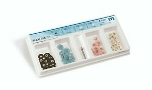 Eve Flexi D For Composite Gold Amalgam Flexible Polishing Disc Kit Dental