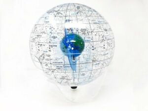 Rare Starship Earth Ii Celestial Sphere Lucite Astronomy Teaching Tool