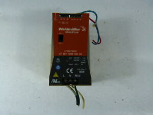 Weidmuller 8708670000 Power Supply 5 Amp 24 Volt Used