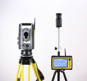 Trimble Rts655 Robotic Total Station Kit W Yuma 2 Tablet Field Link Software
