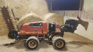 Ditch Witch 410sx Vibratory Plow Trencher Cable Plow Diesel 1400 Hours