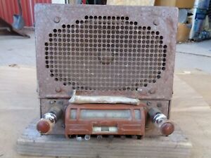 1942 1948 Chevy Short Wave Radio Original Gm Delco Model 985794